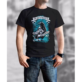 95e416b9c Camisa Camiseta Série Game Of Thrones Night Watch Corvo