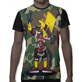 c5456be6c Camisa Simpsons Bart - Camisetas Manga Curta para Masculino no ...