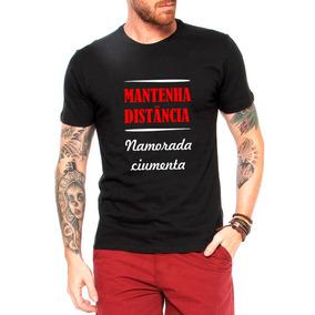 1c7abf12230f6 Camiseta Camisa Frase Namorada Ciumenta!