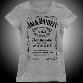 d85ebc592027a Camiseta Jack Daniels Original Feminina - Calçados