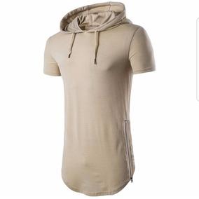 1e46f3e266da9 Camiseta Com Capuz Longline Oversized Stecchi