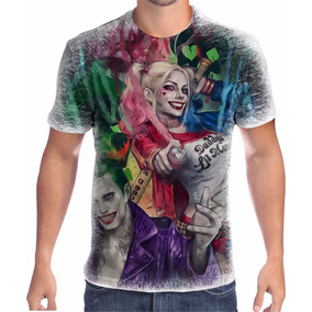 152fd8d96b219 Camisetas Do Coringa - Camisetas Manga Curta para Masculino no ...