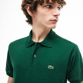 13498d853bc81 Camisa Polo Lacoste - Verde - Original