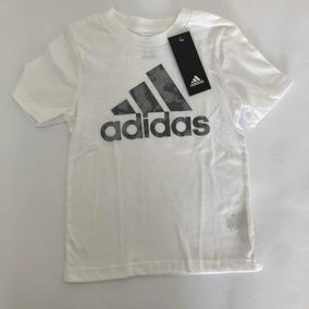 535d159fc86aa Camiseta Infantil Adidas - Camisetas Manga Curta Meninos no Mercado ...