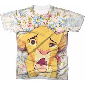89eb77503 Camisa Camiseta Personalizada O Rei Leão Filme Desenho 23