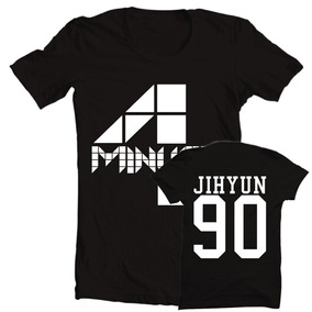 7cfe88b22c140 Camiseta Camisa Ou Baby Look K-pop 4minute 4m Jihyun 90