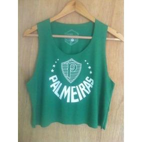 bee64a9775e0e Camisa Do Mossumano - Cropped Regatas para Feminino no Mercado Livre ...