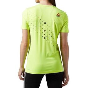 4a38da243527b Camiseta Reebok Camisa Feminina Refletiva Corrida De Rua