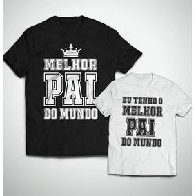 55b88dbdf Troféu Melhor Pai Do Mundo - Camisetas e Blusas no Mercado Livre Brasil