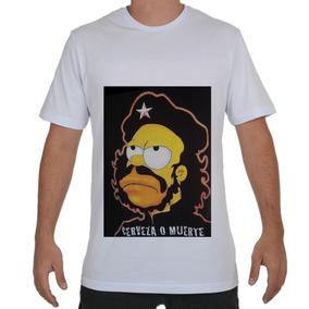 51d0f271d Camiseta Che Guevara Homer Seu - Camisetas e Blusas no Mercado Livre ...