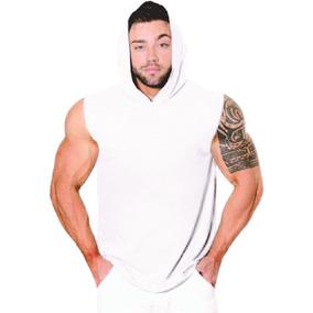 f0ab72a3cfdb1 Regata Capuz Academia - Camisetas Regatas para Masculino no Mercado ...