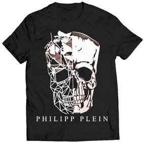 1ee8cc589 Camisa Camiseta Philipp Plein Unissex Supreme Top Caveira