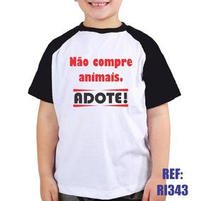 03ced2dedc89b Camiseta Adotei no Mercado Livre Brasil