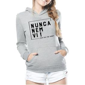 504f339c9 Blusa Personalizada Nunca Nem Vi - Camisetas e Blusas no Mercado ...