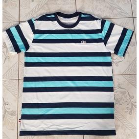 3ea072058ab5c Camiseta Lacoste Masculina Listrada De - Calçados