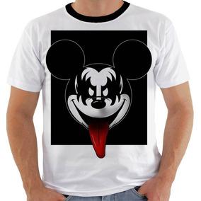 9ac31df08 Camiseta Mickey Mouse Kiss P M G Gg 3xg Xxg Gene Simmons - Camisetas ...