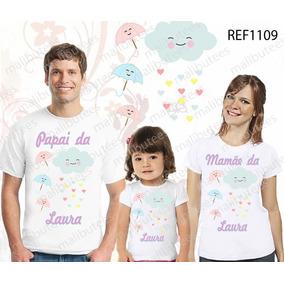 0172d3fcb Camiseta Chuva Amor Camisetas Manga Curta Masculino - Camisetas e Blusas no  Mercado Livre Brasil