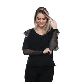 acc9cee25e Blusas para Feminino em Passos no Mercado Livre Brasil