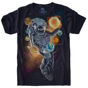 076a3c8a6 Astronauta Planeta Sorvete - Camisetas e Blusas para Masculino no ...