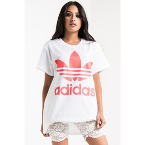 dde6a69fdc6 Camiseta adidas Big Trefoil Tee White turbo