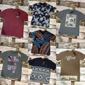 526a8b0e5fc6c Kit 20 Camisetas Masculinas Multimarcas Revenda Atacado