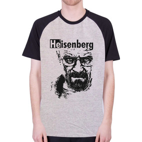 35c6fbffb Camisas Raglan Séries - Heisenberg Breaking Bad 100% Algodão