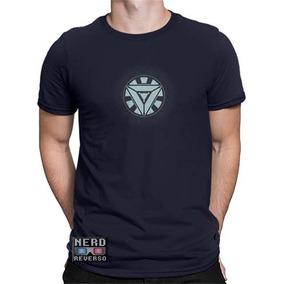 e809488ee Camiseta Iron Man Reator - Camisetas Manga Curta para Masculino no Mercado  Livre Brasil