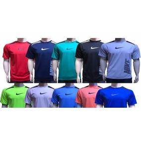 50d84c659 Kit 5 Camisa Camiseta Masculina Dry Fit Academia Lazer