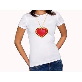 a30cd64eaad93 Camisetas Personalizadas Vários Modelos Moda Coração Tribal ...