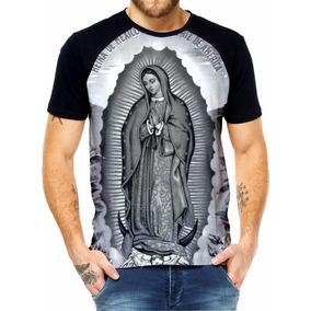 19f5ed840dcb1 Camiseta Guadalupe - Camisetas Manga Curta no Mercado Livre Brasil