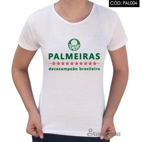 9276c2f61d6a6 Baby Look Palmeiras Feminina - Camisetas e Blusas no Mercado Livre ...