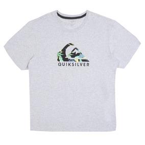 3a271941902da Camiseta Quiksilver Exotic Logo Floral Plus Size