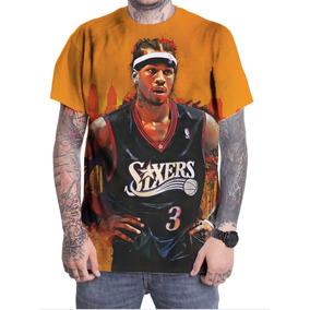 97acf71a6 Camiseta Camisa Personalizada Basquete Allen Iverson Nba 01