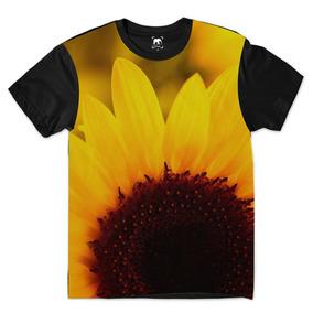 400e02580 Camiseta Girassol Tamanho Xg - Camisetas Manga Curta no Mercado ...
