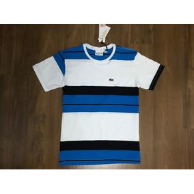 43677a888a748 Kit 3 Camiseta Lala Live Malha Peruana Strip Listrada