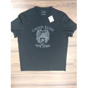 c2b8704bfa1c5 Camiseta Ck Calvin Klein 100% Original Tam G