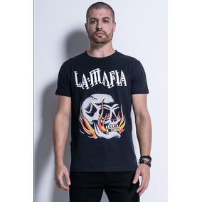 f8a0d521c Camiseta La Mafia Masculina - Calçados
