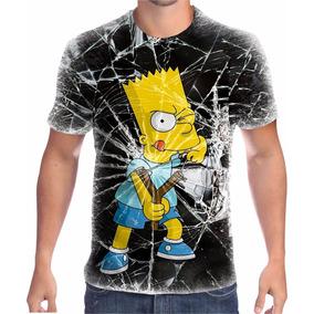 07d43c1fe Camisa Dos Simpsons Masculina - Camisetas Manga Curta para Masculino ...