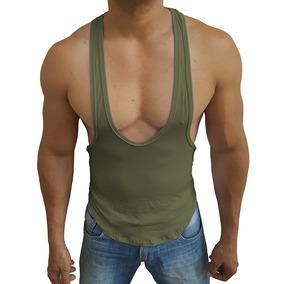 25e1ded1b Camiseta Regata Super Cavada String Tank Academia Fitness - Calçados ...