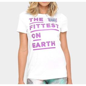 41343d211 Camiseta Crossfit Feminina Reebok Camisetas Manga Curta - Camisetas ...