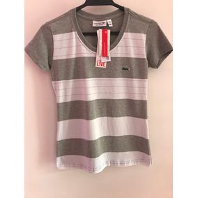 bc6ffb73146 Camisa Lacostes Live Crocodilo Grande - Camisetas Manga Curta no ...