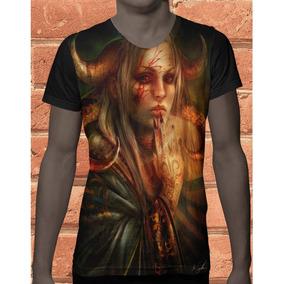 35f9d2893 Camisa Sublimacao Gola V no Mercado Livre Brasil