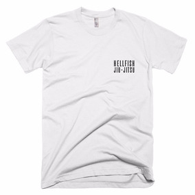 edd5db339 Jiu Jitsu Mma Ufc Camiseta Em Poliéster Ou Algodão Branca ...