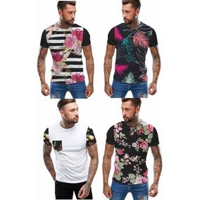41335103cec36 Moda 2019 - Camisetas e Blusas Manga Curta para Masculino em ...