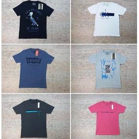 a8ac883a41628 Kit C 6 Camisetas Masculinas Atacado Nike Lacoste Sérgiok. R  199