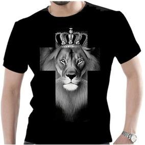 df3fc6ac9 Camiseta Gospel Leao - Camisetas Manga Curta para Masculino no ...