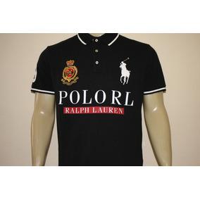 6a4244db2e69f Camiseta Polo Ralph Lauren Customslim Fit Polo Rl Big Pony