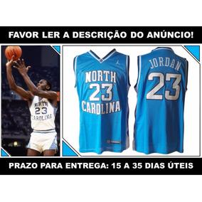 58750a4cc Regata Michael Jordan North Carolina no Mercado Livre Brasil