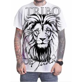 4bd1b6bee Camiseta Leão Da Tribo De Judá Alle Store (unisex) - Calçados ...