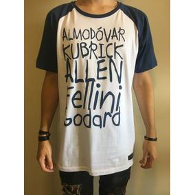 da0e670df Camiseta T-shirt Raglan Cineasta Masculina